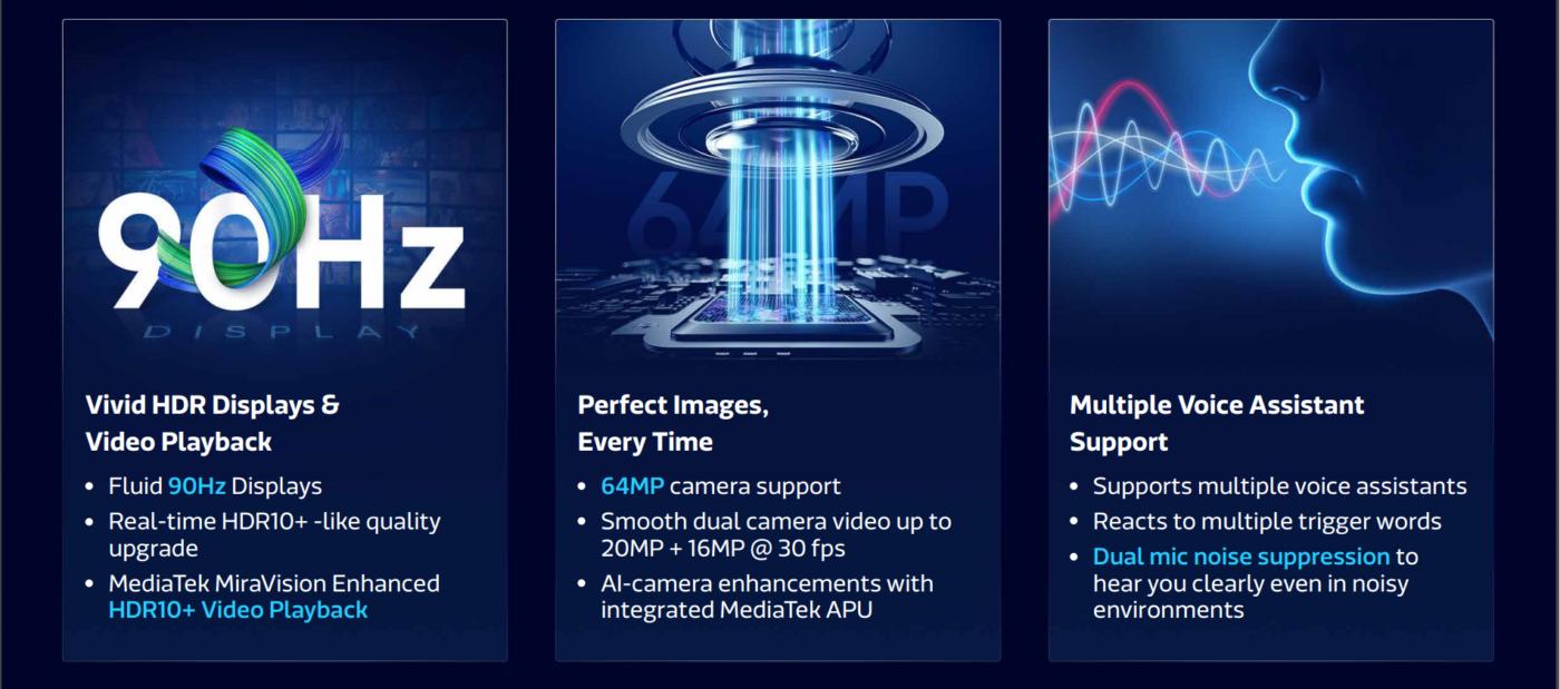 MediaTek Dimensity 720 - specyfikacja