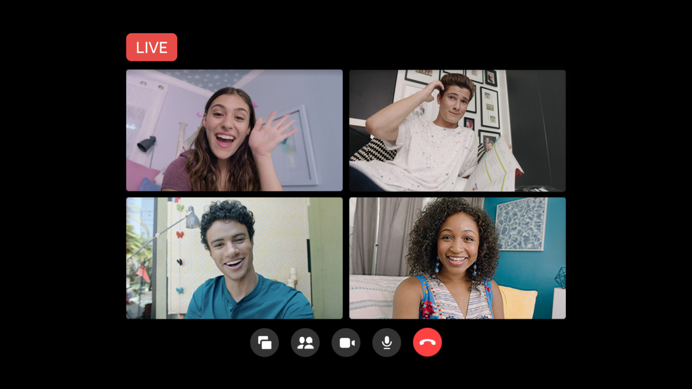 Messenger Rooms - wideokonferencja / transmisja na żywo