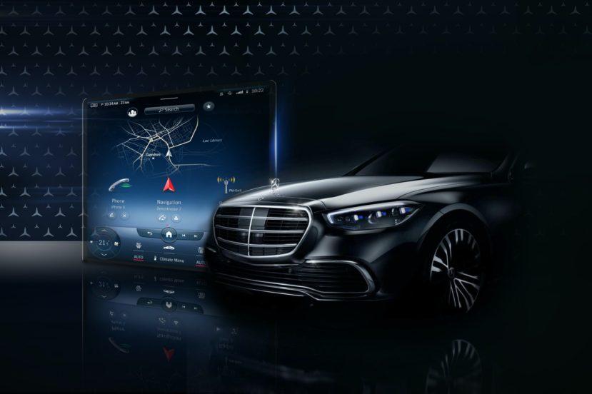 Nowy Mercedes klasy S z ogromnym ekranem  i rozszerzoną rzeczywistością 24
