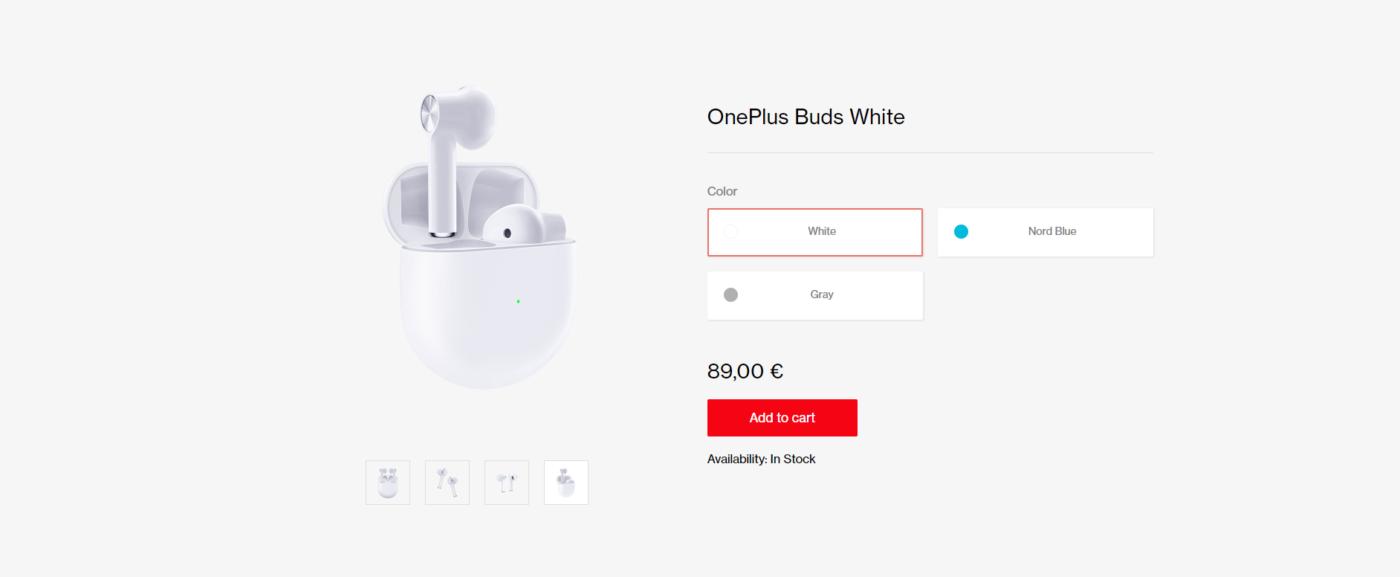 OnePlus Buds - cena