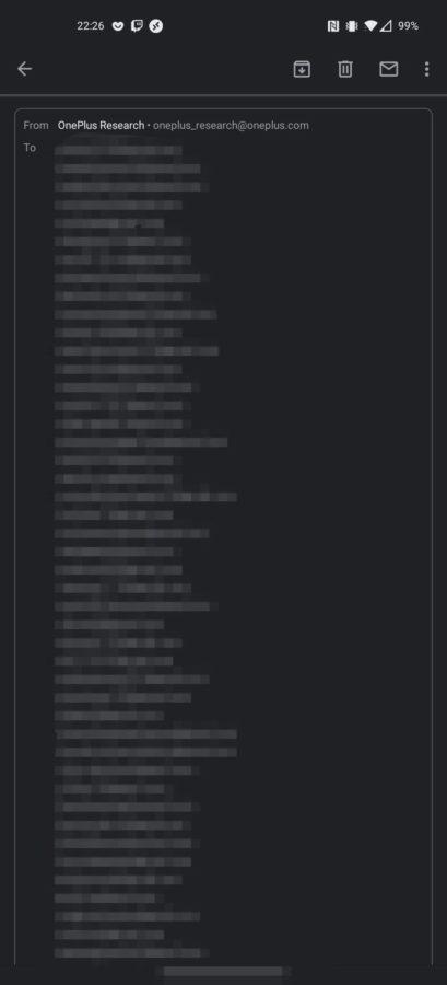 OnePlus niechcący ujawnił dane swoich klientów. Anonimowa ankieta... przestała być anonimowa 18 OnePlus