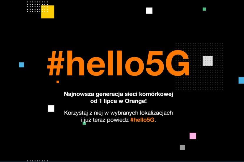 Orange śmiało się z #5GReady od Play, teraz samo uruchamia #hello5G 26