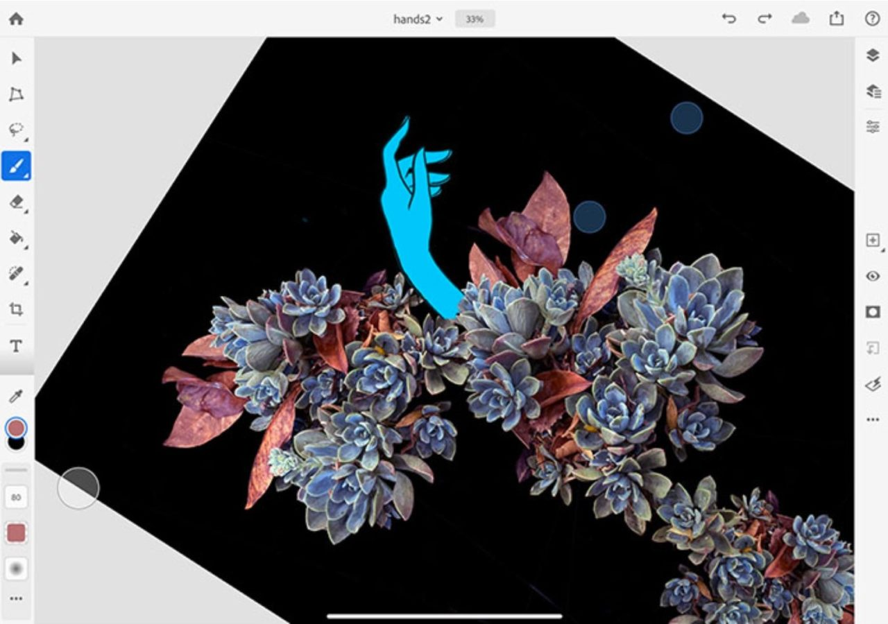 Photoshop na iPady zyskuje parę nowych opcji. Dosłownie, dwie 23