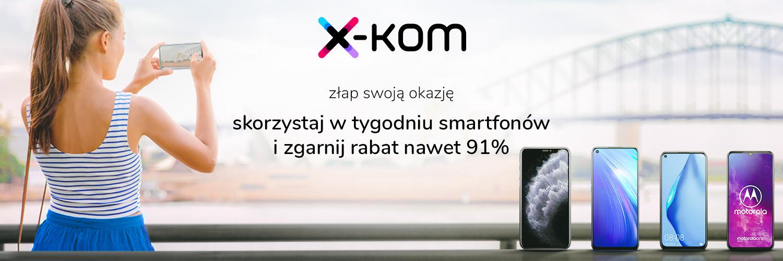 promocja x-kom Tydzień smartfonów główne