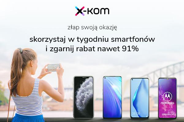 promocja x-kom Tydzień smartfonów