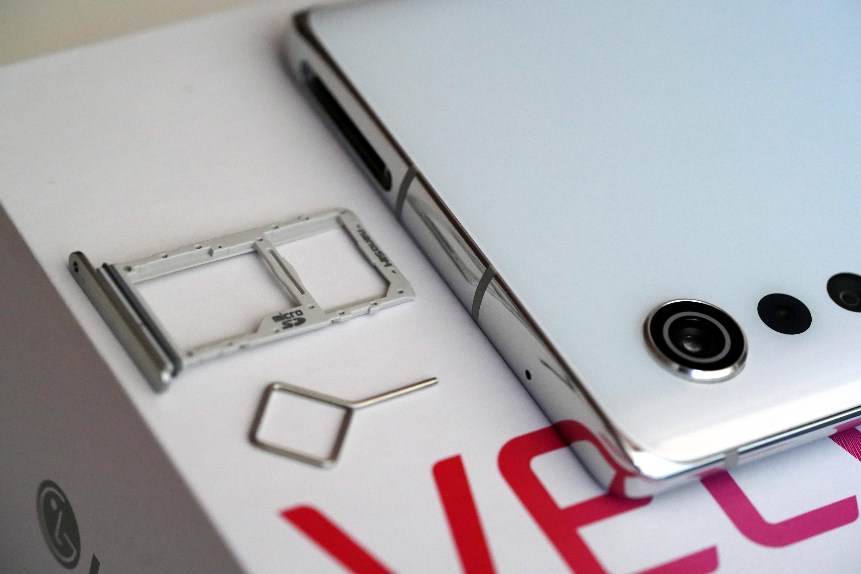 single SIM w LG Velvet - brak dual SIM