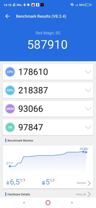 Nubia Red Magic 5G - smartfon TYLKO dla graczy, niestety 76