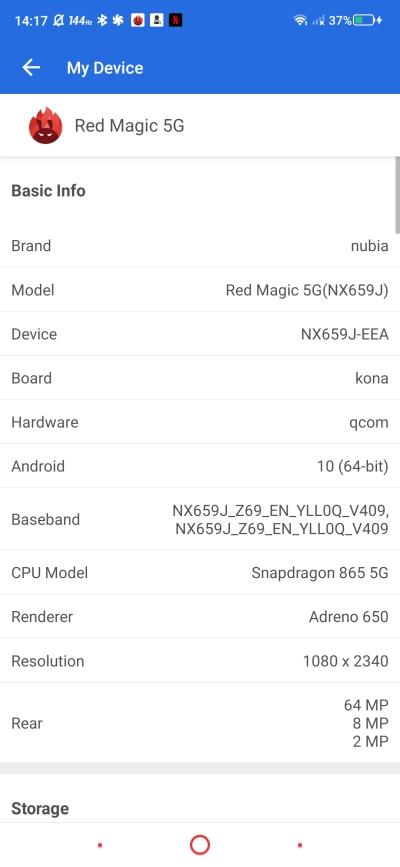 Nubia Red Magic 5G - smartfon TYLKO dla graczy, niestety 77