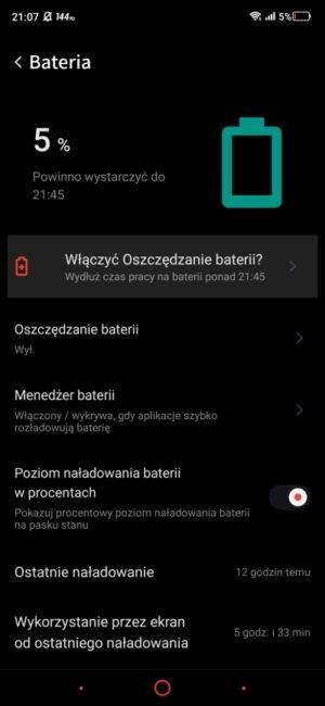 Nubia Red Magic 5G - smartfon TYLKO dla graczy, niestety 107
