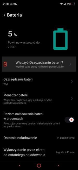 Nubia Red Magic 5G - smartfon TYLKO dla graczy, niestety 109