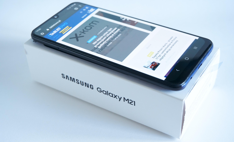 """smartfon Samsung Galaxy M21 2021 w pełni zasłuży na miano """"odgrzewanego kotleta"""""""