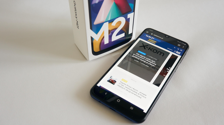 smartfon Samsung Galaxy M21 smartphone