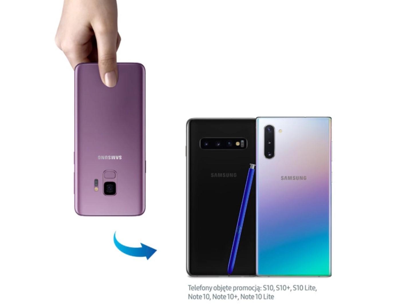 Promocja: nawet 650 zł do wyceny starego smartfona przy zakupie Galaxy S10/Note 10 18