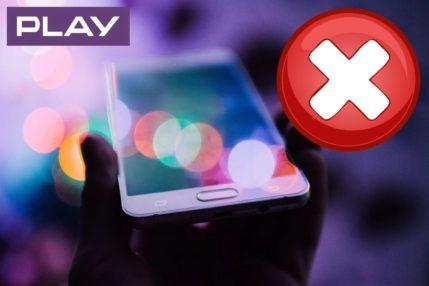 Ogólnopolska awaria w sieci Play! Brak możliwości wysyłania wiadomości SMS 24