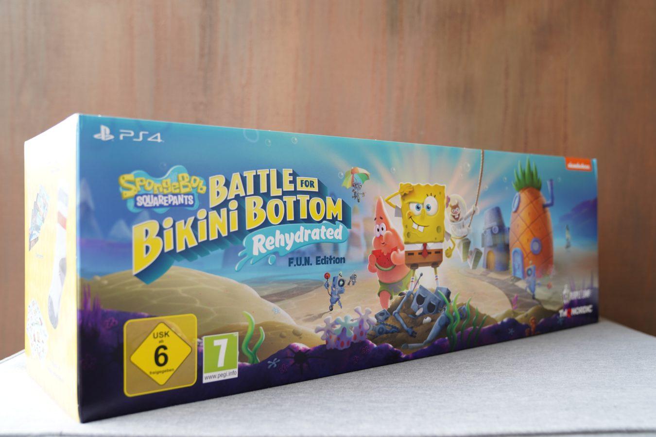 Unboxing ogromnej edycji kolekcjonerskiej SpongeBob SquarePants: Battle for Bikini Bottom Rehydrated F.U.N. Edition 22