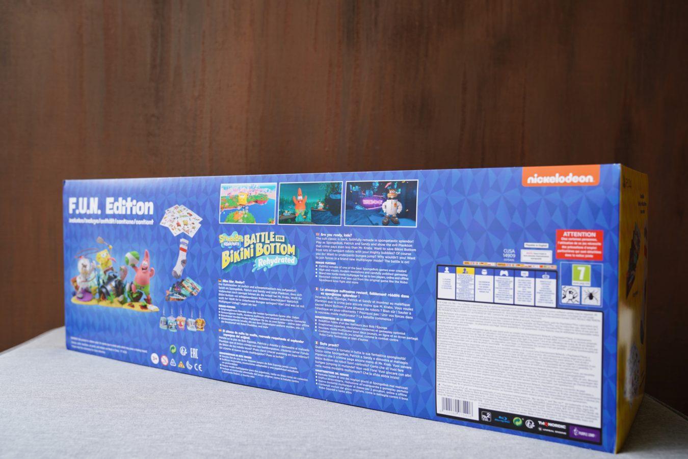 Unboxing ogromnej edycji kolekcjonerskiej SpongeBob SquarePants: Battle for Bikini Bottom Rehydrated F.U.N. Edition 20