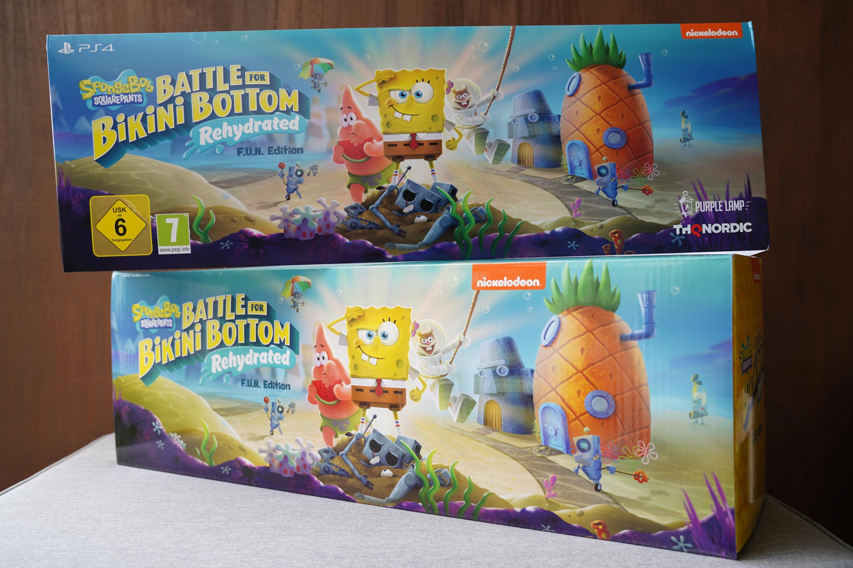 Unboxing ogromnej edycji kolekcjonerskiej SpongeBob SquarePants: Battle for Bikini Bottom Rehydrated F.U.N. Edition 23