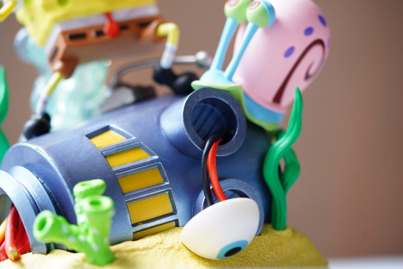 Unboxing ogromnej edycji kolekcjonerskiej SpongeBob SquarePants: Battle for Bikini Bottom Rehydrated F.U.N. Edition 73