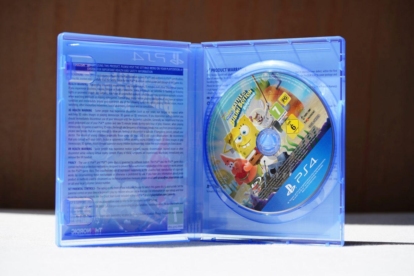 Unboxing ogromnej edycji kolekcjonerskiej SpongeBob SquarePants: Battle for Bikini Bottom Rehydrated F.U.N. Edition 35