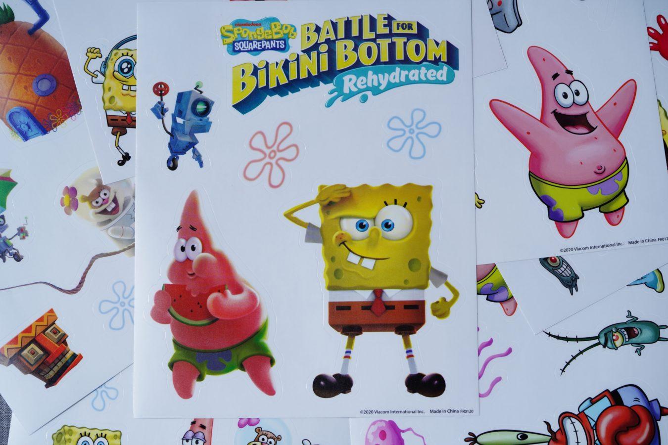 Unboxing ogromnej edycji kolekcjonerskiej SpongeBob SquarePants: Battle for Bikini Bottom Rehydrated F.U.N. Edition 43