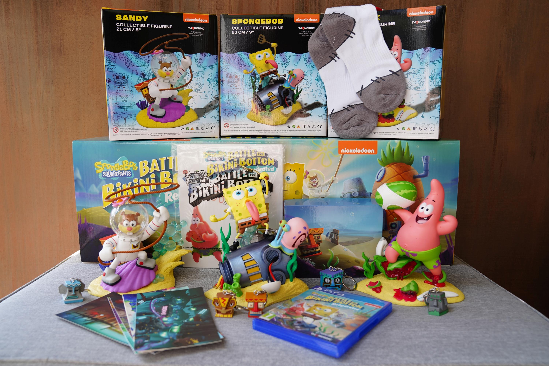 Unboxing ogromnej edycji kolekcjonerskiej SpongeBob SquarePants: Battle for Bikini Bottom Rehydrated F.U.N. Edition 18