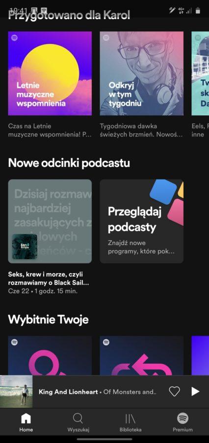 Spotify otwiera podcastowe listy przebojów. Będziesz miał od czego zacząć
