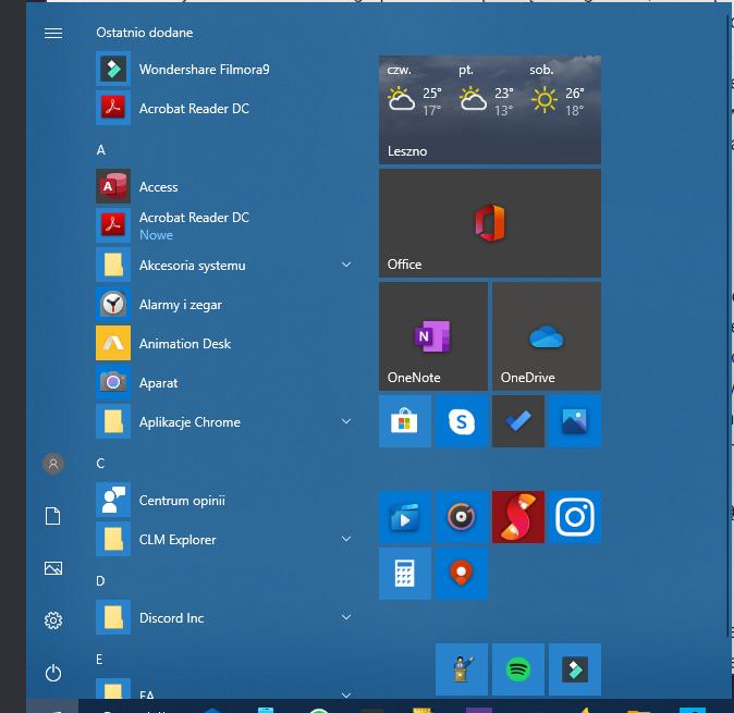 Windows 10 będzie miał ładniejsze Menu Start i zmieniony menedżer kart Alt+Tab 19 Windows 10