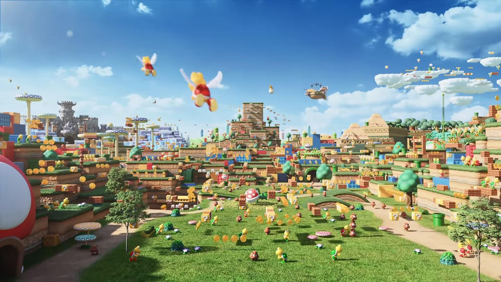 Nie lada gratka dla fanów Mario - park rozrywki Super Nintendo World. Wygląda niesamowicie!