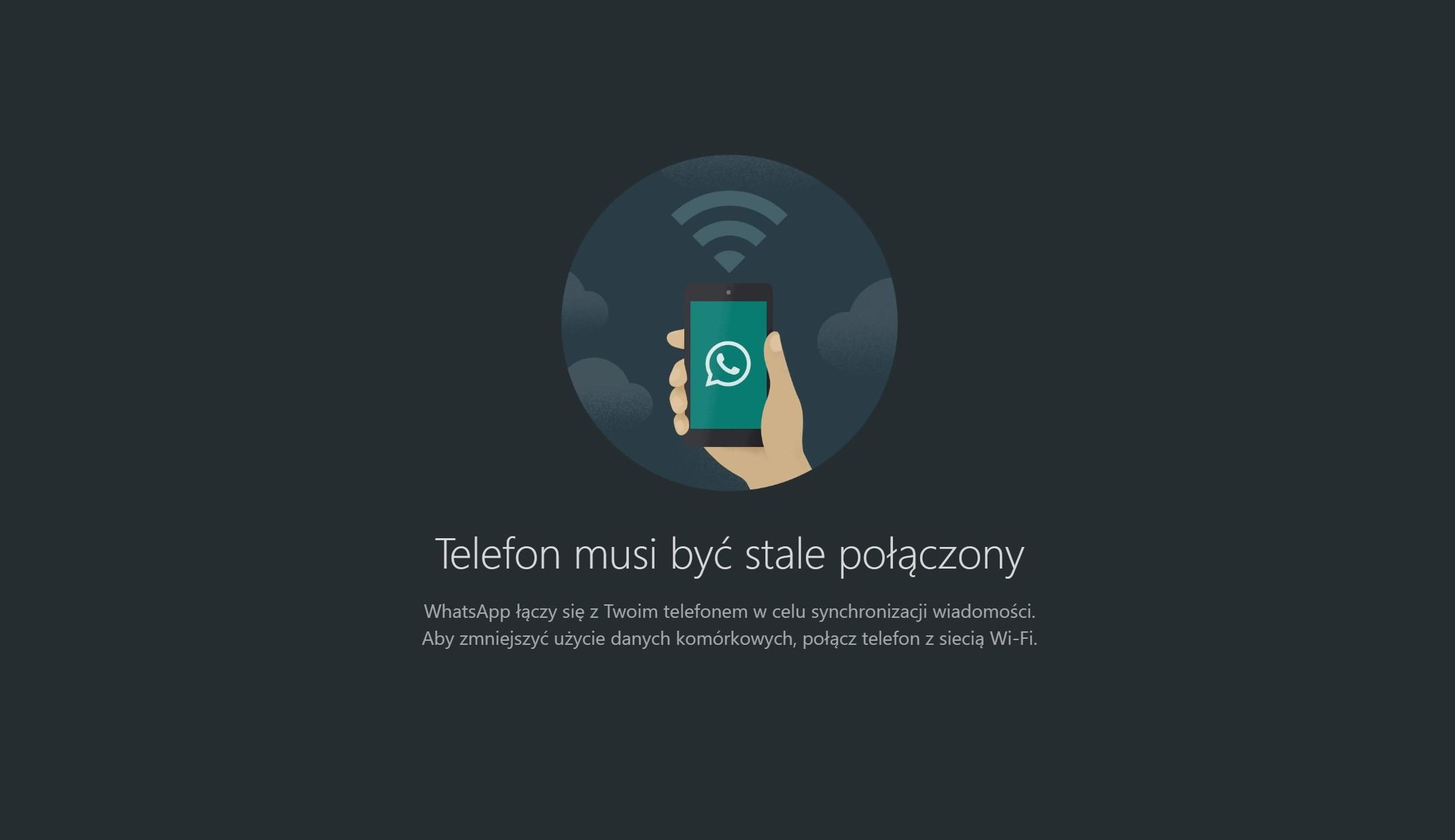 Praktyczna rzecz: WhatsApp na desktopy dostaje ciemny motyw