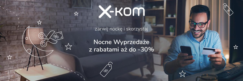x-kom Nocne wyprzedaże promocja