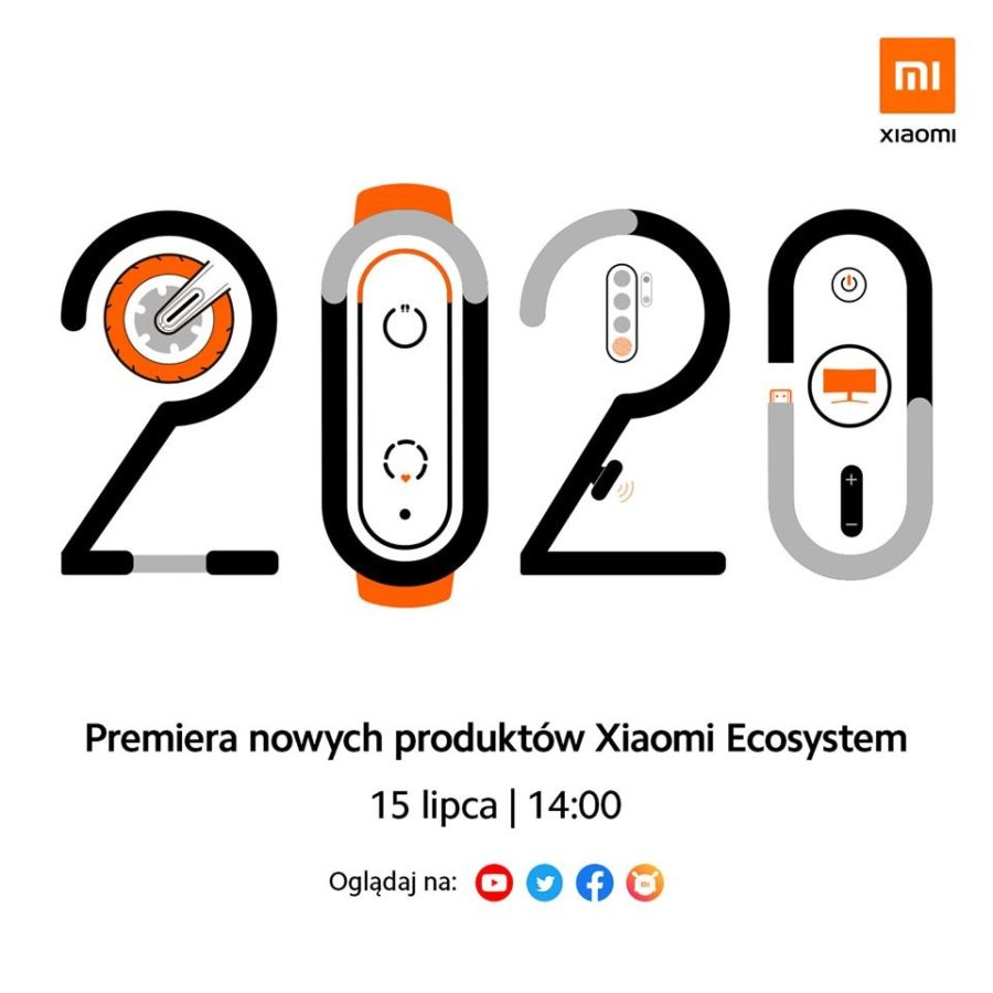 Przygotujcie się na polską premierę Mi Band 5. W najbliższą środę Xiaomi zasypie nas sprzętami 19