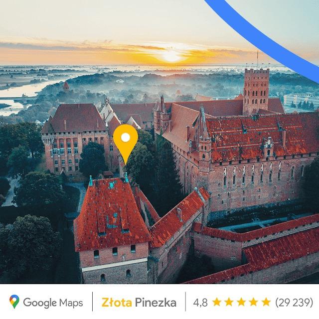 Google przyznaje Złote Pinezki w Polsce. Dla każdego województwa po jednej 22 Google