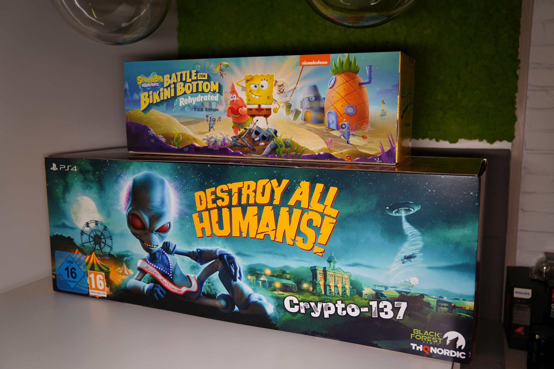 Unboxing Destroy All Humans! Crypto-137 Edition. To naprawdę wypasiona kolekcjonerka!