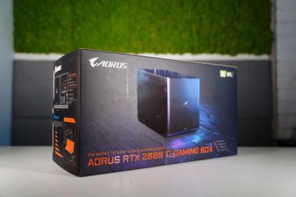 Gigabyte Aorus GeForce RTX 2080 Ti Gaming Box - recenzja najmocniejszego eGPU na świecie 16
