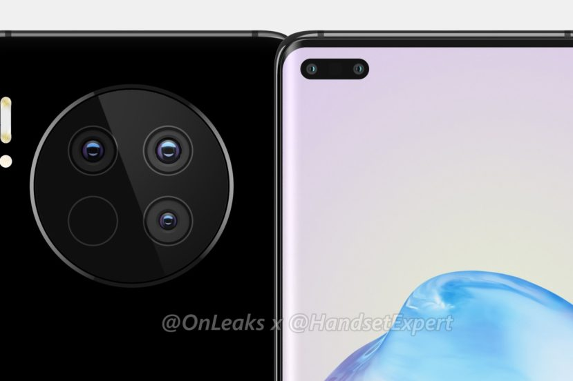 Huawei Mate 40 i Mate 40 Pro - wysepki aparatów głównych będą jeszcze większe niż poprzednio 20