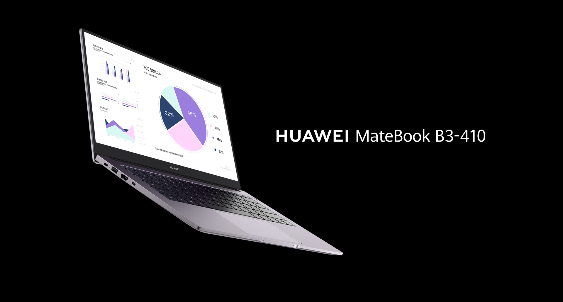 Huawei MateBook B3-410 laptop
