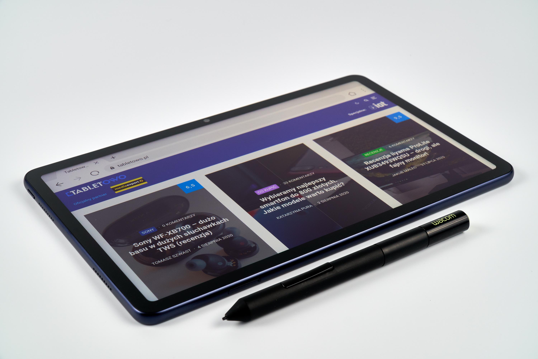 Huawei MatePad 10 i pióro od Wacoma One