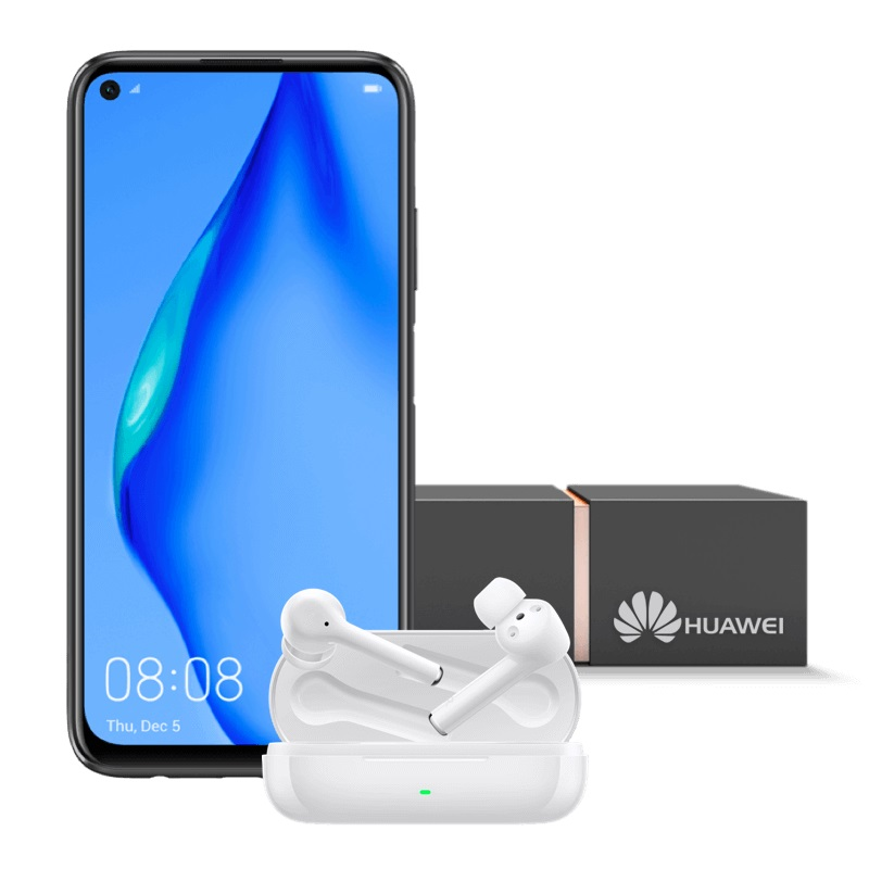 Huawei P40 Lite 4G Huawei FreeBuds 3i Orange Extra Box