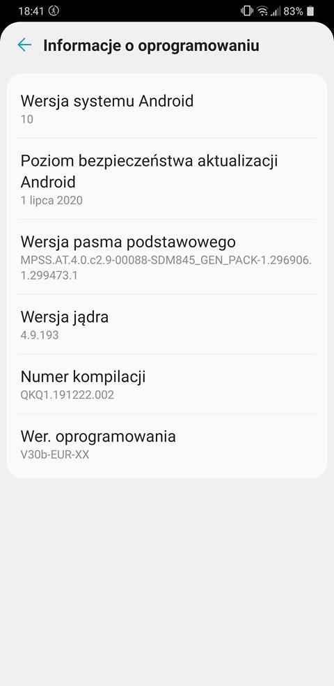 Android 10 trafia na LG G7 ThinQ w Polsce - znakomicie! 23 Android 10