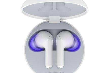 Słuchawki LG TONE Free z etui dezynfekującym wkrótce w Polsce. Niższy model dostępny już teraz 17