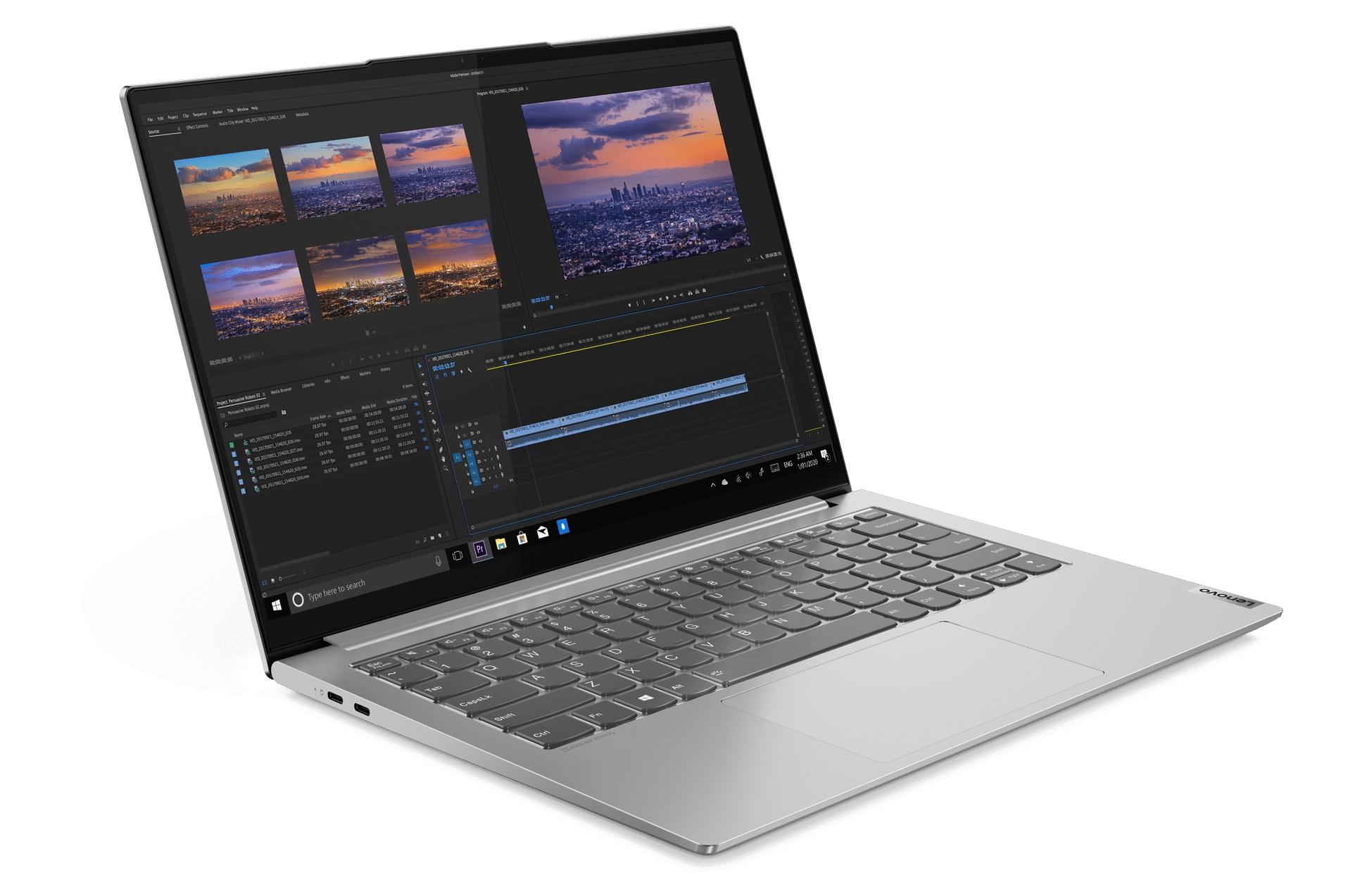 laptop Lenovo Yoga Slim 7 Pro Light Silver