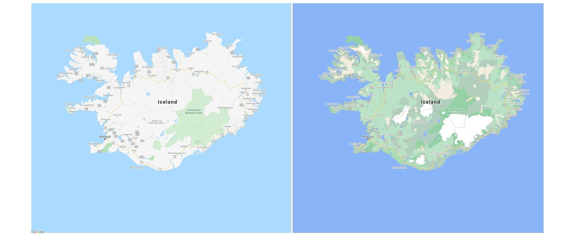 Mapy Google większa szczegółowość more detalis