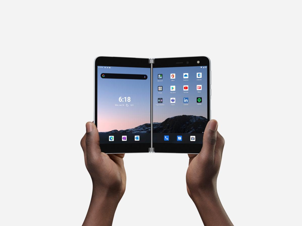 smartfon Microsoft Surface Duo smartphone