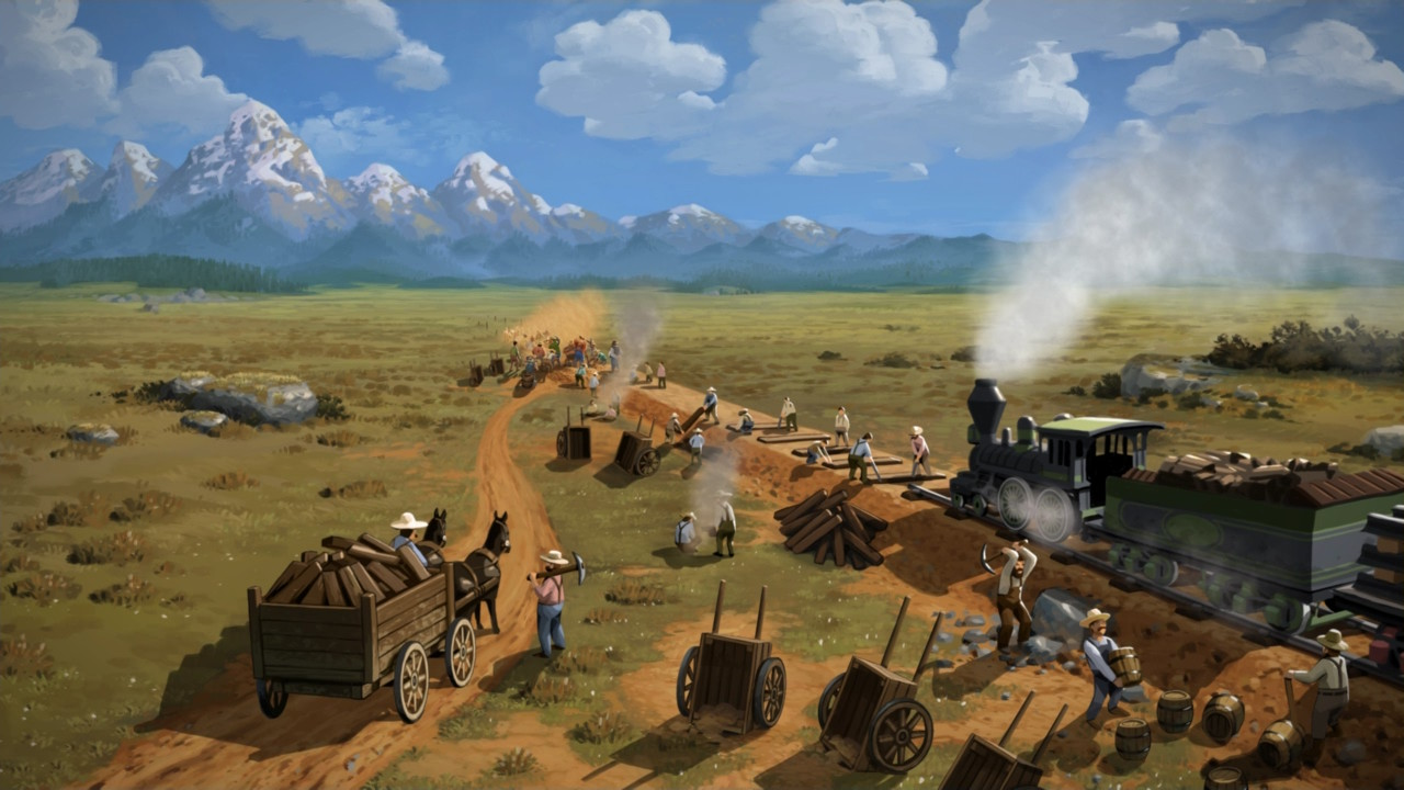 Railway Empire Epic Games Store