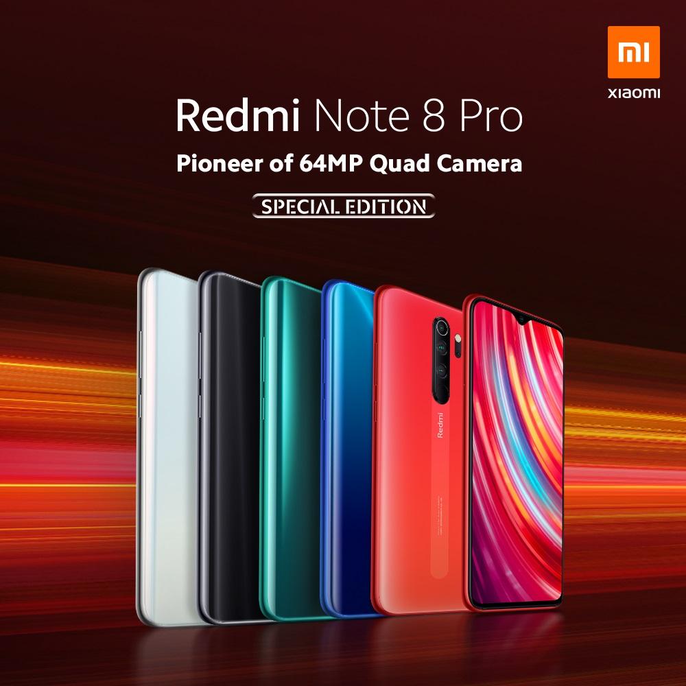 seria Redmi Note 8 Pro series
