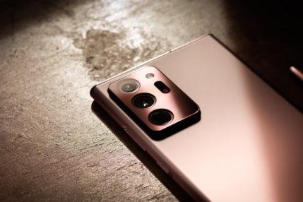Samsung Galaxy Note 20 Ultra fot. Miłosz Starzewski