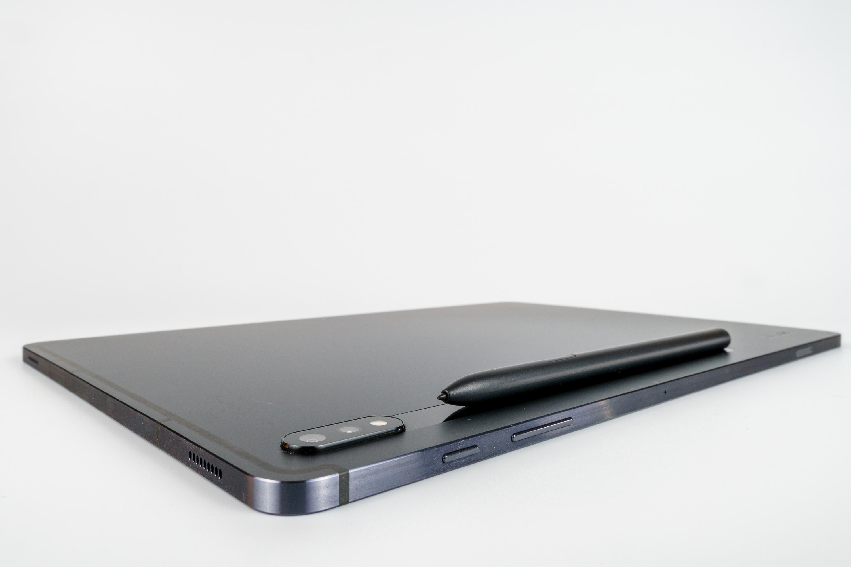 Samsung Galaxy Tab S7+ zadokowane piórko