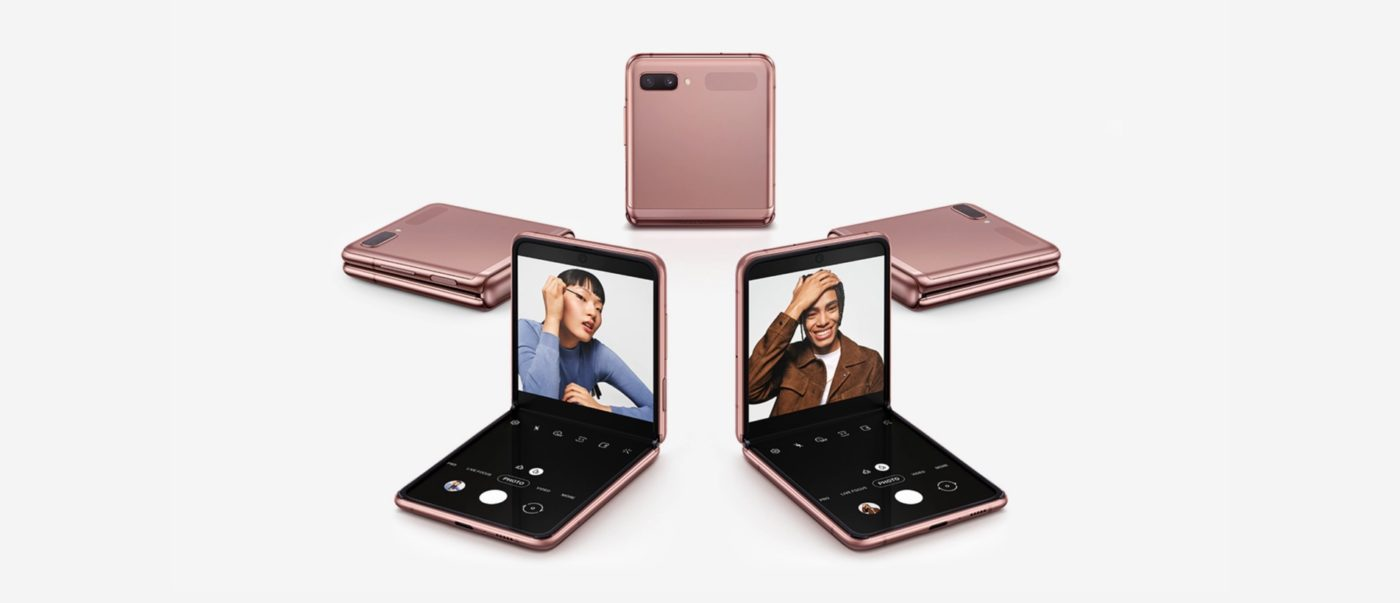 składany smartfon Samsung Galaxy Z Flip 5G foldable smartphone