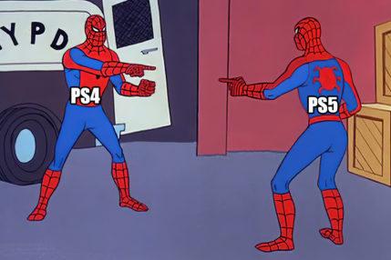 Spider-Man PlayStaton 4 PlayStation 5
