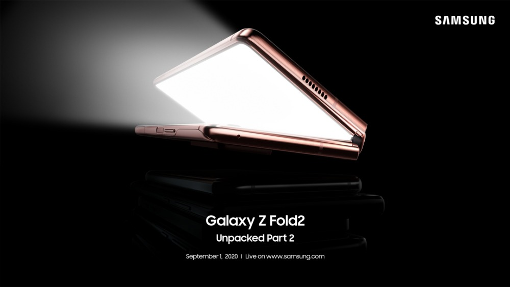 Samsung zachował kilka niespodzianek na 1 września. Poznamy wtedy cenę Galaxy Z Fold 2